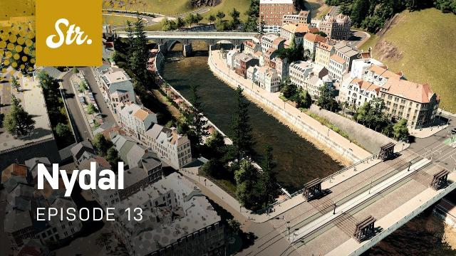 By The Canal — Cities Skylines: Nydal — EP 13