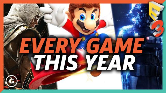 Every Game From E3 2017 Coming Out This Year