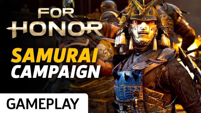 For Honor - The Nobushi (Samurai) Gameplay Trailer