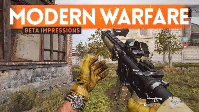 MODERN WARFARE Beta Gameplay Impressions ???? (The Good & Bad)
