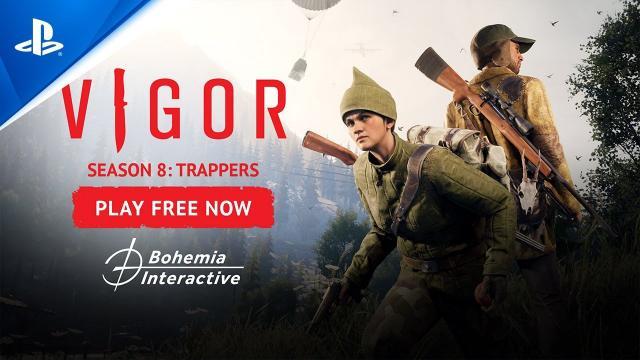 Vigor – Season 8: Trappers Trailer | PS5, PS4