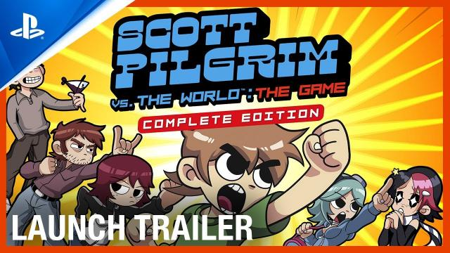 Scott Pilgrim vs. The World: The Game – Complete Edition: Launch Trailer | PS4