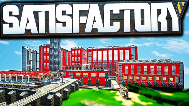 We Built an ENTIRE CITY for our Oil Setup! - Satisfactory Early Access Gameplay Ep 33