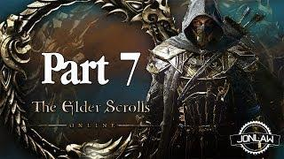 The Elder Scrolls Online Walkthrough - Part 7 SIGNAL FIRE - Gameplay&Commentary