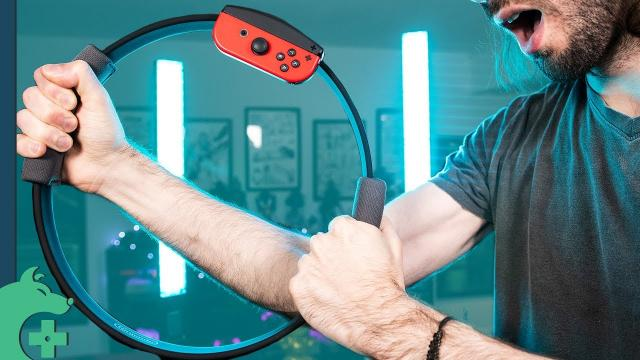 A Day with Rig Fit Adventure from a guy who doesn't exercise [Nintendo Switch]