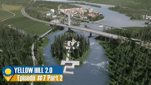 Cities Skylines Yellow Hill 2 - The Bled Island, Park Project and Coat of Arms | EP.7 Part 2 | Y:4