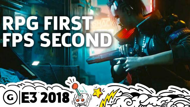 Cyberpunk 2077 Story, Open World, And First-Person Gameplay Details   E3 2018