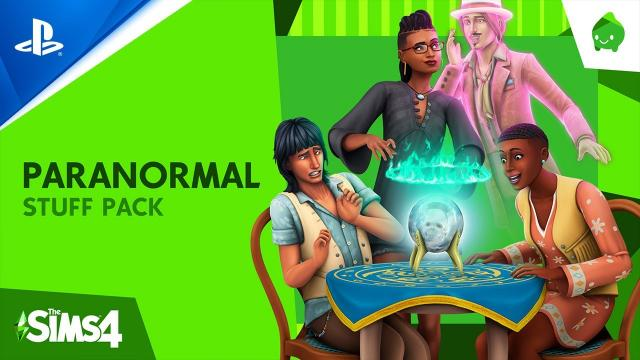 The Sims 4 Paranormal Stuff Pack - Official Reveal Trailer | PS4