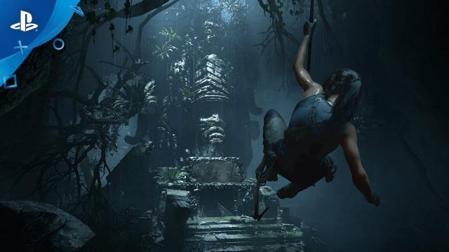 Shadow of the Tomb Raider - Acrobatic Traversal and Brutal Puzzles | PS4