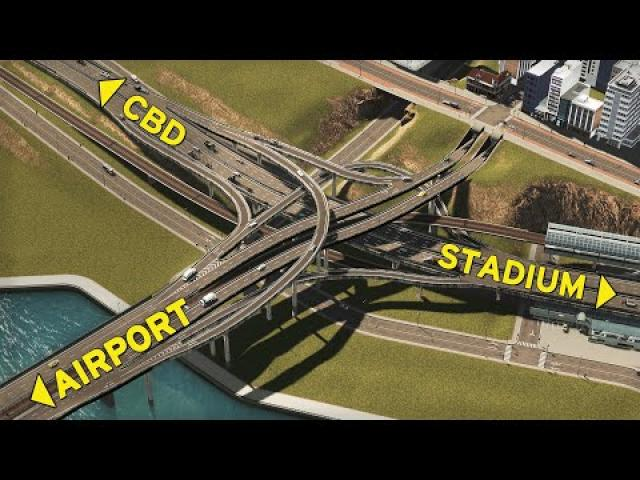 Overly COMPLICATED Interchange | Cities Skylines: Oceania 19