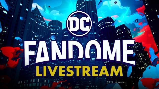 DC FanDome 2021 Livestream