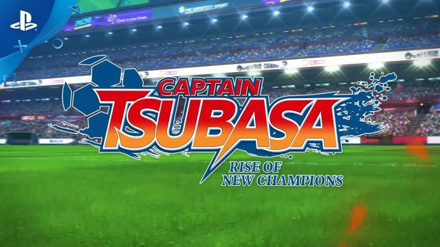 Captain Tsubasa: Rise of New Champions - Street Date Announcement Trailer   PS4