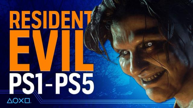 Resident Evil - From PS1 to PS5