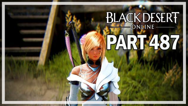 Black Desert Online - Dark Knight Let's Play Part 487 - Daily Activities