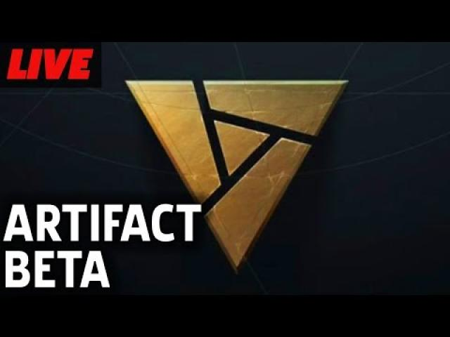 Artifact Beta Gameplay Live