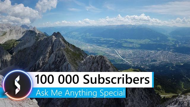 100 000 Subscribers Ask Me Anything Special