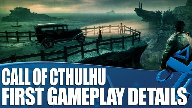 Call Of Cthulhu - First Gameplay Details! Sherlock meets Lovecraft