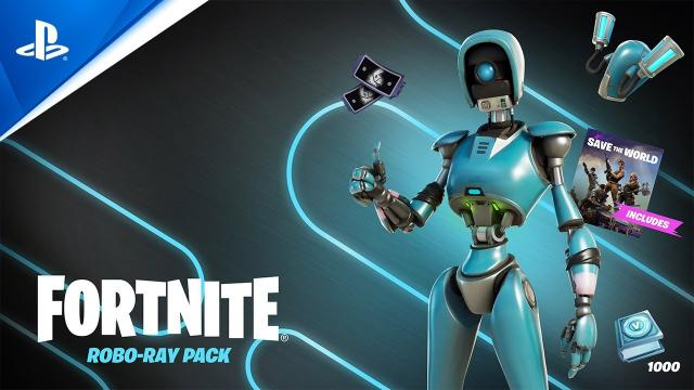 Fortnite - Robo-Ray   PS5, PS4