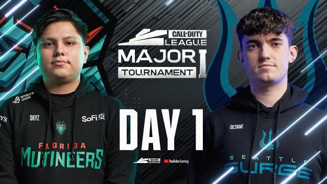 Call Of Duty League 2021 Season | Stage I Major | Day 1