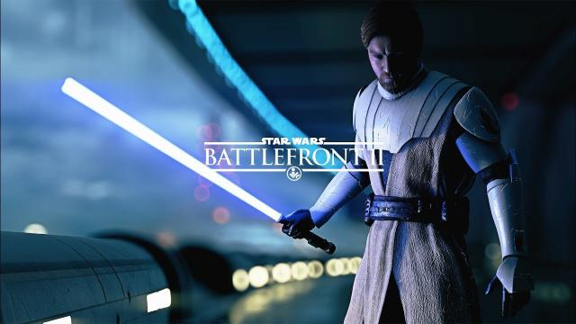 The General Kenobi Cinematic - Star Wars Battlefront 2 Clone Wars