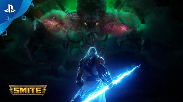 Smite - Cthulhu Reveal Trailer   PS4