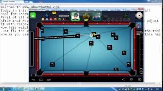 8 Ball Pool Line Hack For Android Devices And Bluestacks Users.