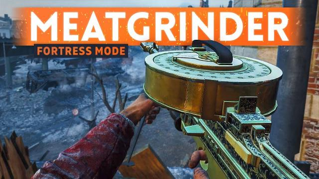 This Is MEATGRINDER HEAVEN ???? Battlefield 5 Fortress Mode