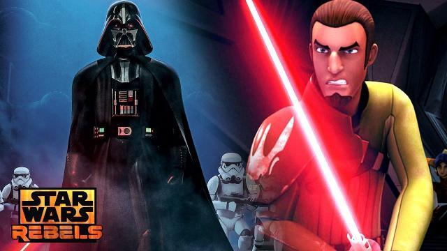 Star Wars Rebels Season 3 - Darth Vader Secretly Training Kanan with Path to the Dark Side