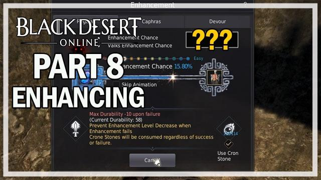 Black Desert Online - Enhancing Armors Episode 8 - Failing TET