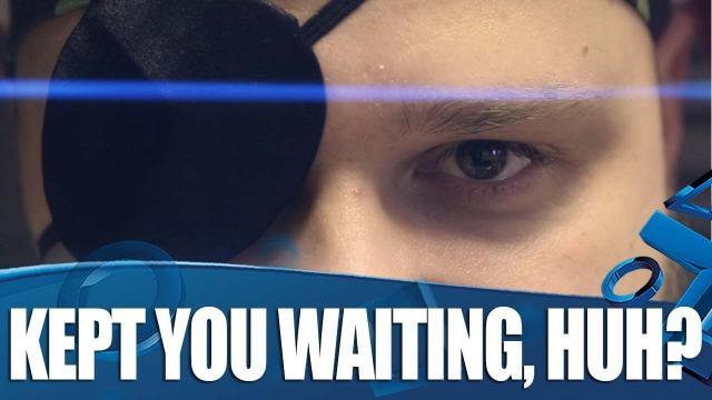 Kept you waiting, huh?