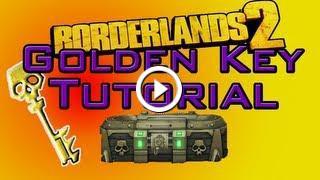 Borderlands 2: Unlimited Golden Key Hack Tutorial!! [UPDATED]