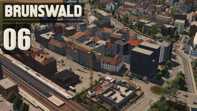 Modern Development & Ring Road - Cities Skylines: Brunswald - 06