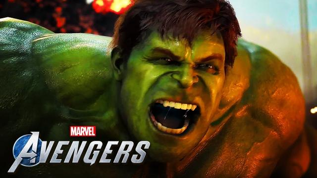 Marvel's Avengers - 18 Minutes Of Official 4K Gameplay | A-Day Prologue