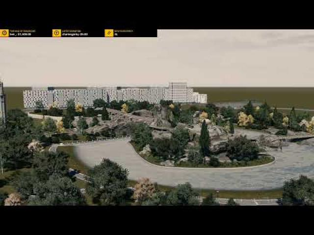 #106 Developing the area around Park! Cities Skylines: Little France | Friday Night With Skib