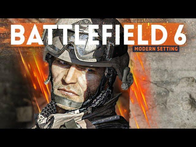 BATTLEFIELD 6 should have a MODERN DAY setting