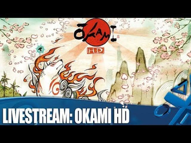 livestream: Okami HD