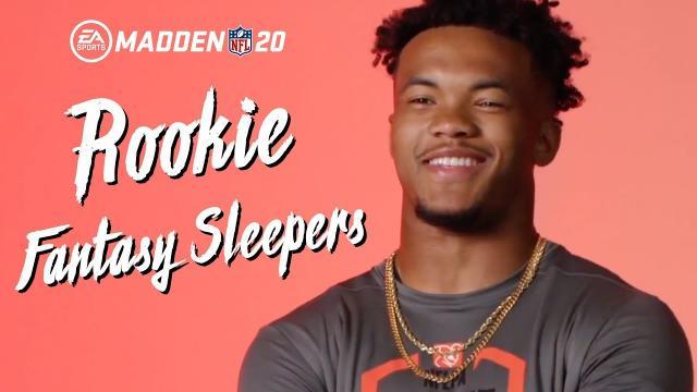 Madden 20 - Rookie Fantasy Sleepers
