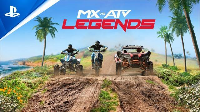 MX vs ATV: Legends - Announcement Trailer | PS5, PS4