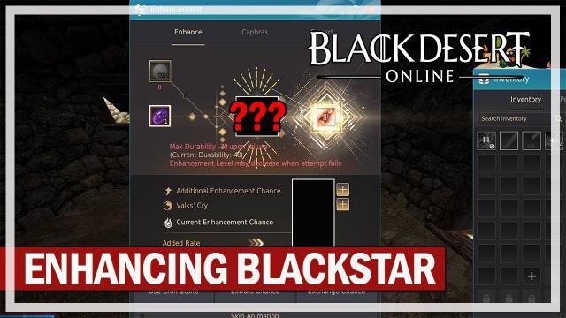 Black Desert Online - Enhancing Blackstar Vediant from +0