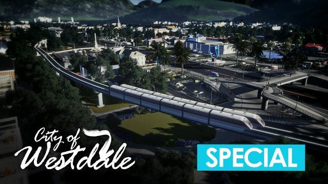 Cities Skylines: Monorail City Trip [4K]