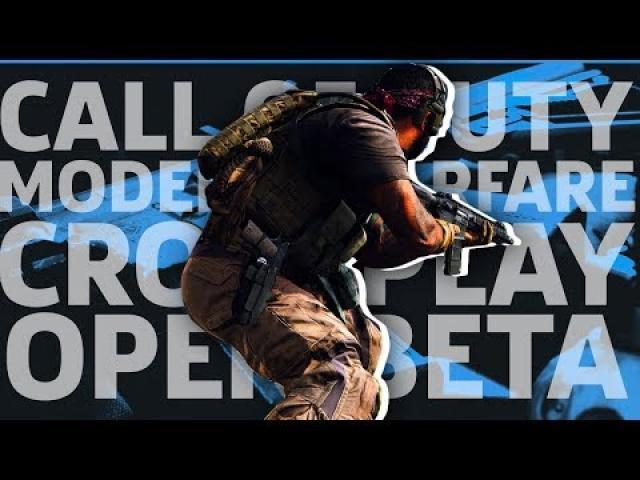 COD: Modern Warfare Crossplay Beta | GameSpot Live