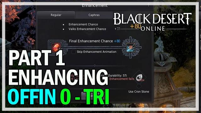 Black Desert Online - Enhancing Offin Kriegsmesser 0 - TRI Gameplay