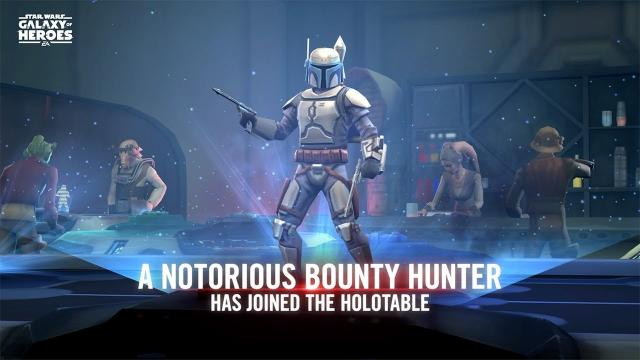 Star Wars: Galaxy of Heroes - Jango Fett Blasts onto the Holotoble