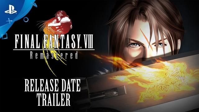 Final Fantasy VIII Remastered - Official Release Date Reveal Trailer | PS4