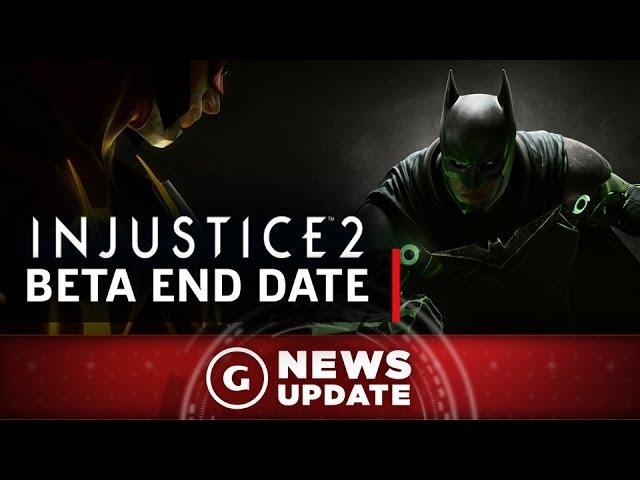 Injustice 2 Beta End Date Revealed - GS News Update