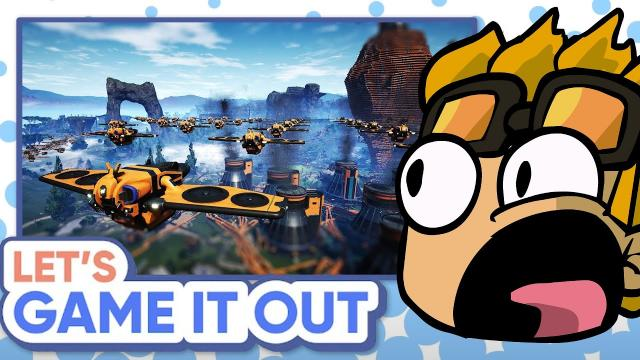 ImKibitz Reacts to Let's Game It Out Playing Satisfactory