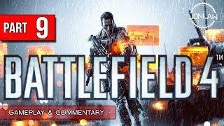 Battlefield 4 Walkthrough - Part 9 SABOTAGE - Let's Play Gameplay&Commentary BF4