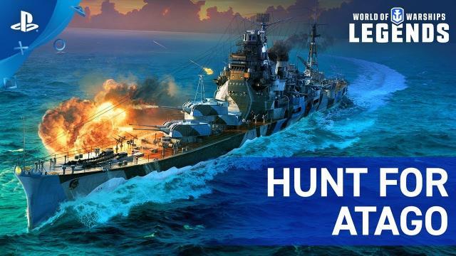 World of Warships: Legends – Hunt for Atago   PS4