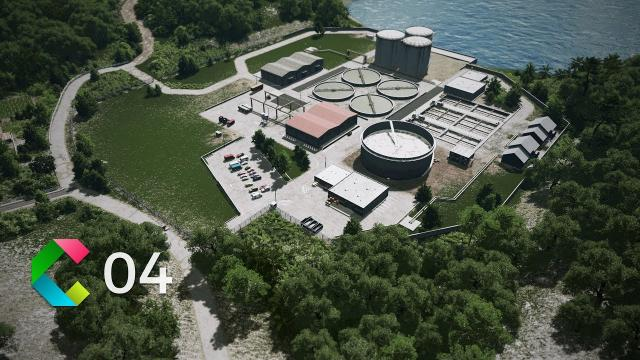 Cleyra - 4 - Water Treatment Plant and Wind Energy Park