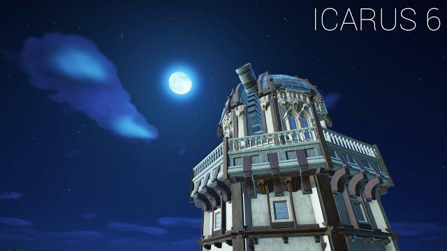 """Planet Coaster - Icarus [PART 6] """"Observatory"""""""